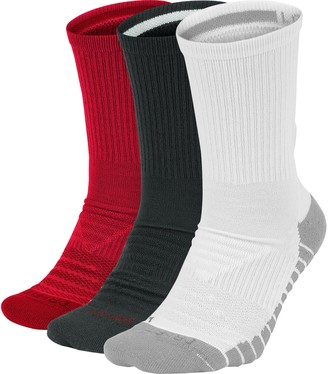 Nike Men's 3-pack Everyday Max Cushioned Crew Training Socks