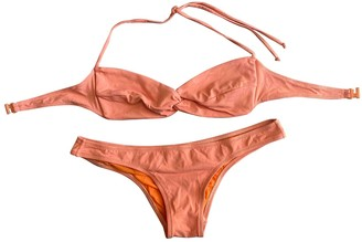 Laura Urbinati Orange Cotton - elasthane Swimwear for Women