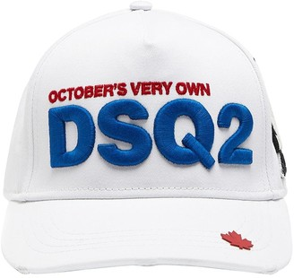 DSQUARED2 Ovo Capsule Canvas Baseball Hat