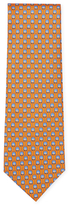 Brioni Printed Circles Tie