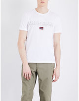 Napapijri Sapriol Cotton-jersey T-shirt