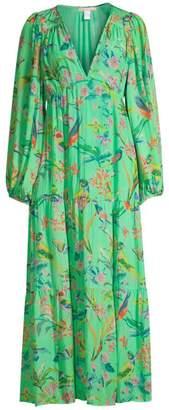 Banjanan Laura Long Sleeve Blouse Maxi Dress