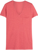 Madewell Whisper Cotton-jersey T-shirt - Coral