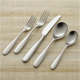 Crate & Barrel Stanton Satin 5-Piece Flatware Place Setting