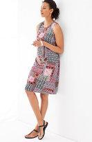 J. Jill Patchwork-Print Dress