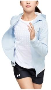 Under Armour Girls' Armour Fleece Full Zip Hoodie