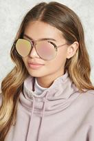 Forever 21 Iridescent Aviator Sunglasses
