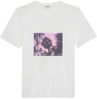 Saint Laurent Graphic T-Shirt