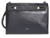 Skagen Mini Mikkeline Leather Satchel - Blue