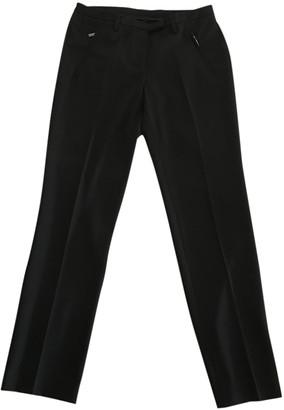 Cerruti Black Polyester Trousers