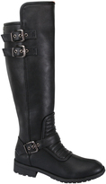 Black Livia Riding Boot