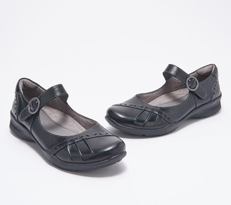 Earth Leather Mary Jane Shoes - Natural Superior