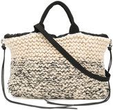 Muun Ecru chunky knit bag