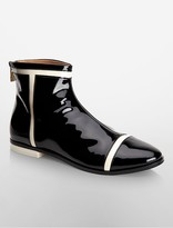 Calvin Klein Cari Patent Leather Boot