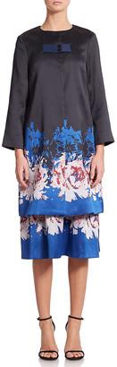 Suno Floral Jacquard Jacket