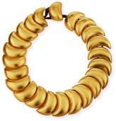 Viktoria Hayman Swirl Statement Collar Necklace