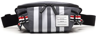 Thom Browne Engineered 4-Bar Bum Bag
