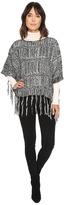 Michael Stars On the Fringe Poncho Women's Clothing