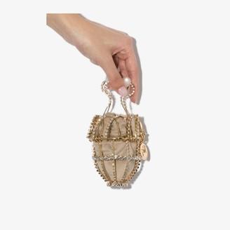 Rosantica gold tone Ginestra embellished bracelet bag