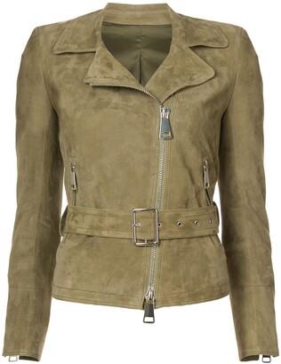 Sylvie Schimmel Ginger biker jacket