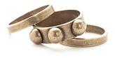 Flutter - Buci stacking rings, brass