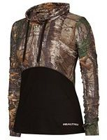 Women's Realtree Canopy Cowl Neck Camo Top