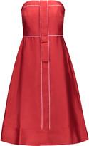Raoul Flame silk-blend dress