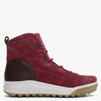 Legero Tirano 61 Red Suede Walking Boots