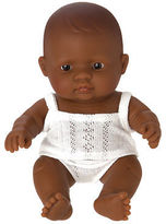 Miniland NEW Hispanic Baby Girl Doll