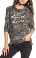 Sundry Army of Lovers Camo Hoodie