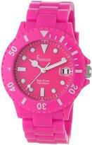 Freelook Women's HA1431-5 Sea Diver Neon Band Face Watch