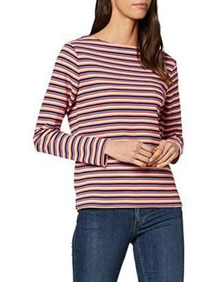 Tom Tailor Women's Gestreiftes Multicolor T-Shirt Blouse,Xx-Large
