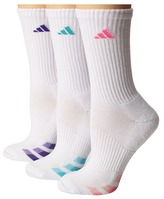adidas Cushion Variegated 3-Pair Crew Sock