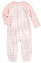 Nordstrom Infant Girl's Double Knit Romper