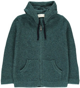 Simple Apollo Hooded Cardigan with Zip