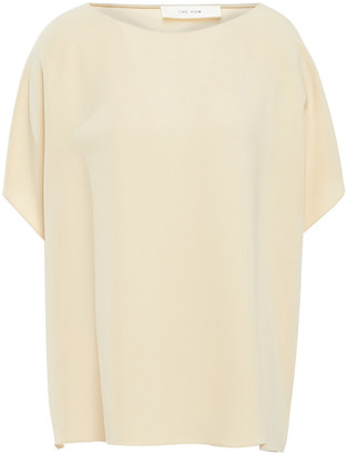 The Row Stretch-crepe Top