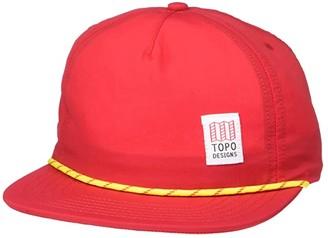 Topo Designs Cord Cap (Red) Caps