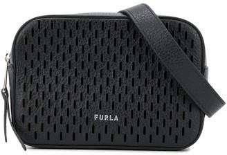 Furla Laser Cut Logo Belt Bag