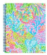 Lilly Pulitzer Lover's Coral Large Notebook