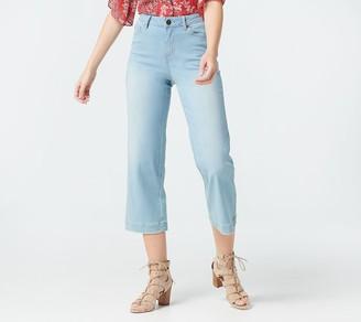 Belle By Kim Gravel Belle by Kim Gravel TripleLuxe Denim Gaucho Jeans