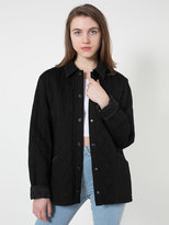 American Apparel Unisex Quilted Twill Jacket