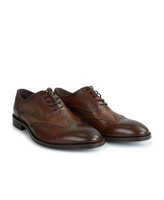 Paul Smith Leather 'munro' Flexible Travel Brogues Colour: D