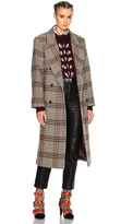 Isabel Marant Flint Plaid Coat