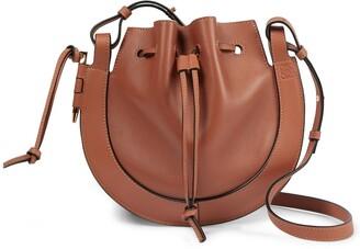 Loewe Horseshoe Small leather shoulder bag