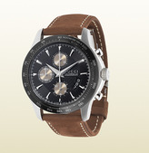 Gucci G-Timeless Collection Watch With Leather Strap