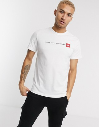 The North Face NSE t-shirt in white