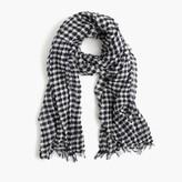 J.Crew Gingham scarf