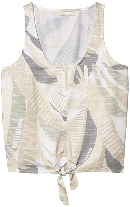 Prana McKenzie Tank Top (Bone Paloma) Women's Clothing