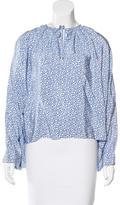 Balenciaga Silk Oversize Top w/ Tags