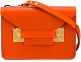 Sophie Hulme detachable strap crossbody bag - women - Leather - One Size